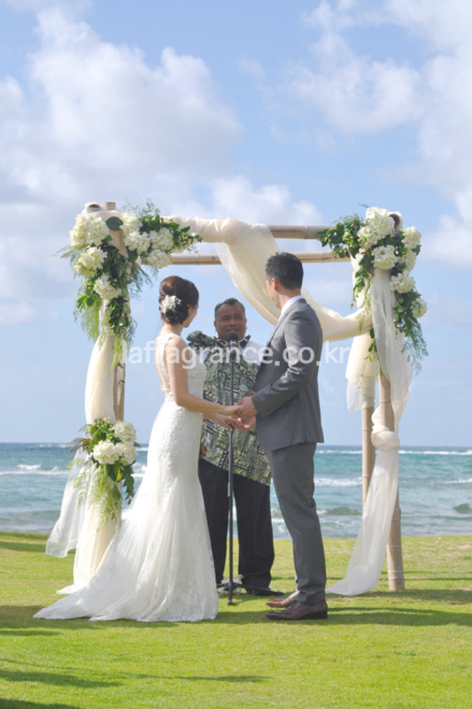 Destination Wedding in Hawaii프라그랑스